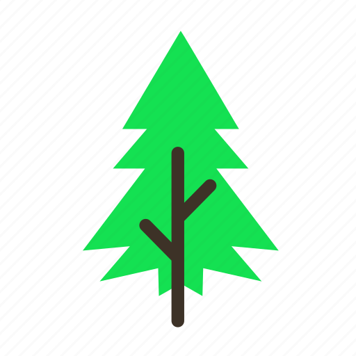 forestry, forrest, pine, spike, tree, trees, young icon