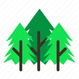 forestry, forrest, pine, spikes, tree, trees icon