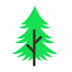 forestry, forrest, pine, tree, trees, young icon