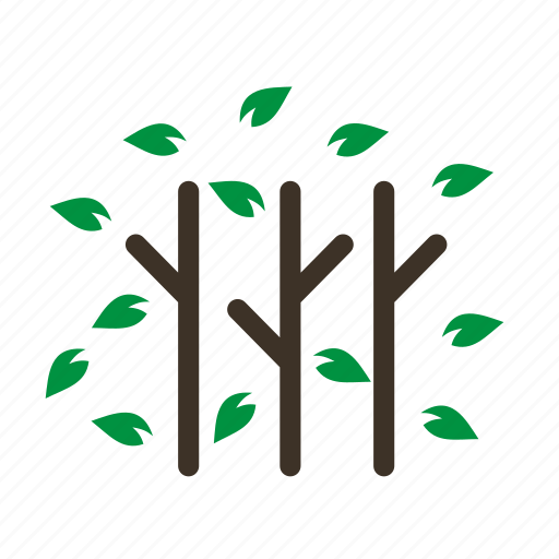 branch, fall, forestry, forrest, leaves, tree, trees icon