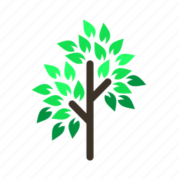 branch, forestry, forrest, leaves, spring, tree, trees icon