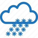 cold, freeze, freezing, sleet, snow, snowy, weather icon