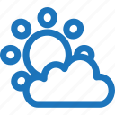 cloud, season, sun, sunny, sunrise, sunset, weather icon