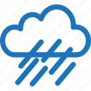 cloud, cloudy, rain, rainy, rainy day, weather icon