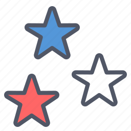 america, american, fourth of july, independence day, july 4th, star, stars icon