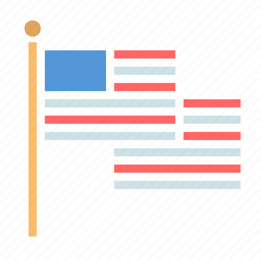 america, american, flag, independence day, july 4, united states, us icon
