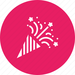 america, american, celebrate, cone, independence day, merry, party icon