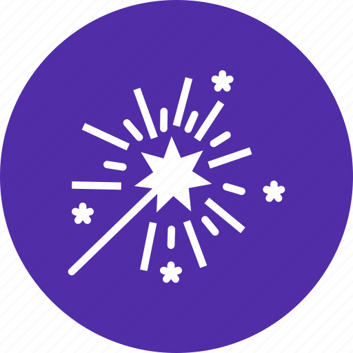 america, american, celebrate, independence day, july 4, star, wand icon