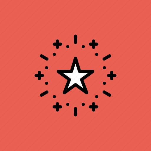 america, american, celebrate, celebration, independence day, july 4th, star icon