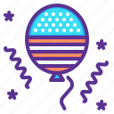 america, american, balloon, celebration, festival, independence day, july 4th icon