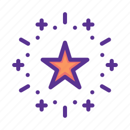 america, american, celebrate, celebration, independence day, july 4, star icon