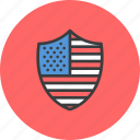 america, american, independence day, insignia, july 4th, reward, shield icon