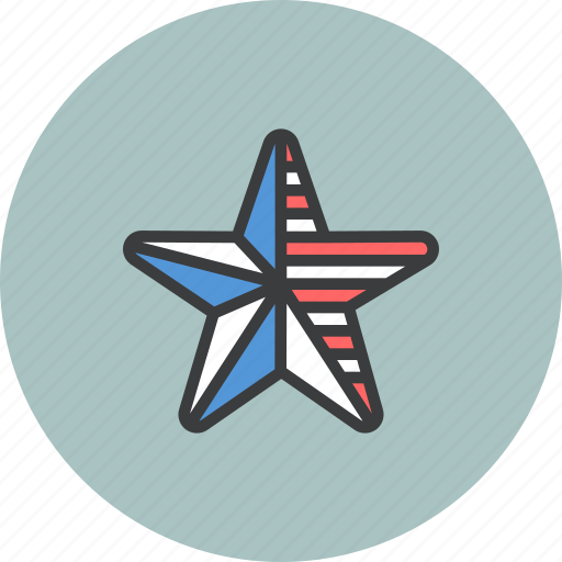 america, american, flag, independence day, july 4th, star, united states icon