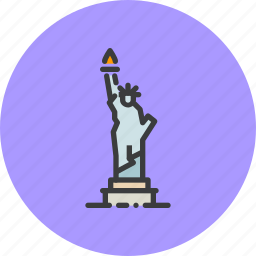 america, american, independence day, july 4th, liberty, statue, united states icon