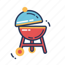 bar, barbecue, barbeque, bbq, cook, grill, summer icon