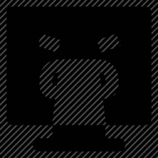 computer, emoji, emoticon, smiley, vomiting icon