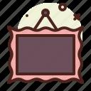 layer, decor, interior, photo icon