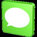message, msn, sms, text, talk, chat, forum, comment, bubble, green, information, vert, announcement, communication, verdancy, statement, report