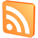 blog, feed, mandarin, mandarine, orange, rss, tangerine icon