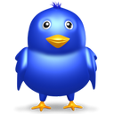 bird, birdie, blue, dark blue, dickey, dicky, flier, flyer, fowl, navy blue, sapphirine, twitter icon