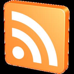 blog, feed, mandarin, mandarine, orange, rss, tangerine icon