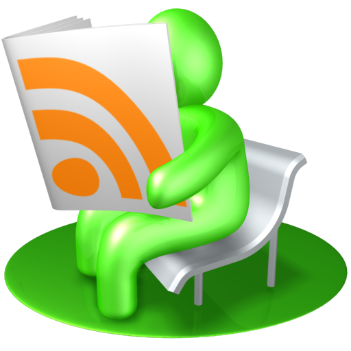 feed, news, newspaper, read, reader, rss, source, subscribe, verdancy, vert icon