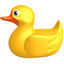 animal, bauble, beast, bird, birdie, brute, canard, child, children, dickey, dicky, duck, duckling, flier, flyer, fowl, furphy, gaud, kids, kinder, plaything, quack, toy, trick, urinal, yellow icon