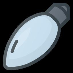 bulb, christmas, light, ornament icon
