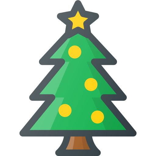Christmas Tree Facebook Icon: Christmas, Ornament, Pine, Star, Tree Icon