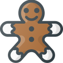 christmas, cookie, gingerbread, sweet