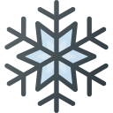 christmas, snow, snowflake, weather, winter icon