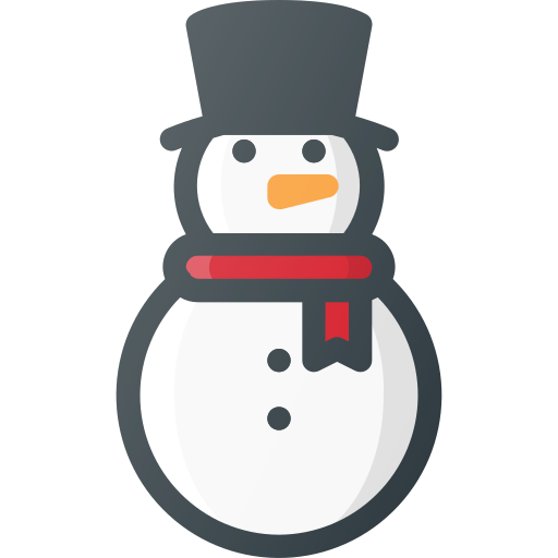 christmas, game, snowman, winter icon