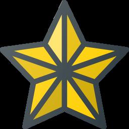 bethlehem, christmas, light, ornamen, star icon