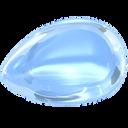 aquamarine, blue, gem, jewel, light, light-blue, precious, stone icon