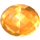 citrine, gem, jewel, precious, stone, yellow icon