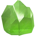 crown, gem, green, jewel, peridot, precious, stone icon