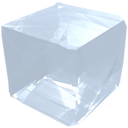 crystal, cube, gem, jewel, precious, salt, transparency, transparent icon