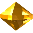 gem, jewel, precious, stone, yellow, zircon icon