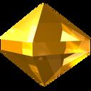 gem, jewel, precious, stone, yellow, zircon icon