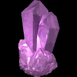 amethyst, amethystine, gem, jewel, pink, precious, stone icon