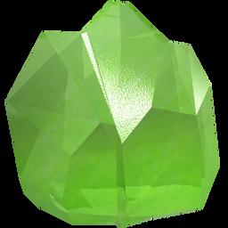 crown, gem, green, jewel, peridot, precious, stone icon