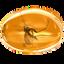 amber, gem, jewel, komar, mosquito, precious, succinite icon