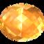 citrine, gem, jewel, precious, stone, yellow icon