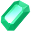 emerald, gem, gemstone, green, jewel, precious, stone icon
