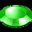 gem, gemstone, green, round, stone icon
