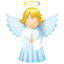 angel, immortal, love, religious, romantic, soul, valentine, valentine's day, wing, wings icon