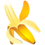 banana, fruit, ingredient, tropical icon