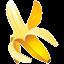 banana, tropical, fruit, ingredient icon