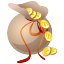 bag, bagful, bank, buck, business, cash, coin, currency, dollar, dollars, finance, fish, money, sac, sack icon