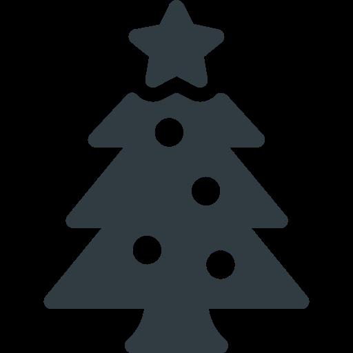 christmas, ornament, star, tree, xmas icon